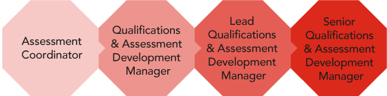 Career path - City & Guilds Qualifications and Assessment Development